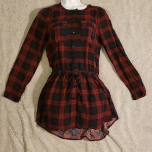 Forever 21 plaid Tunic